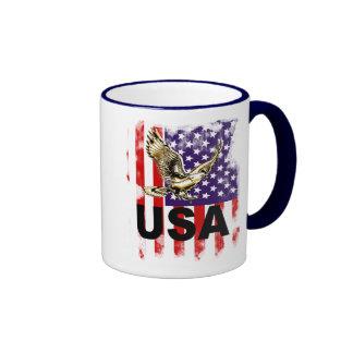 USA RINGER MUG