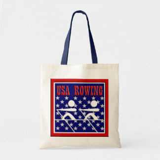 USA Rowing Sports Budget Tote Bag