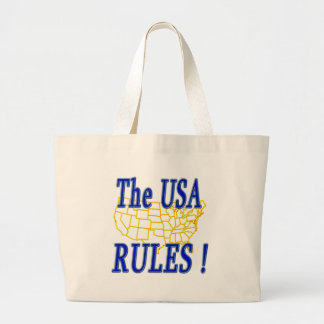 USA Rules ! Tote Bags