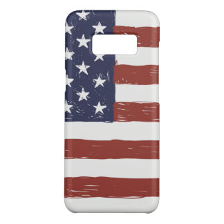 USA Samsung Galaxy S8, Barely There Phone Case