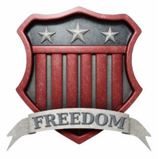 USA Shield Photo Sculpture