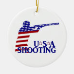 USA Shooting (Red White And Blue Rifle)