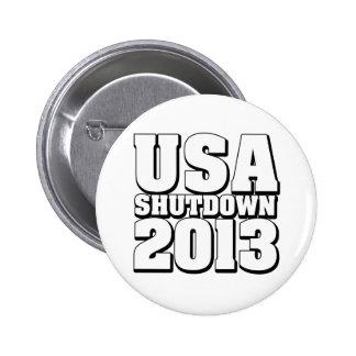 USA Shutdown 2013 Buttons