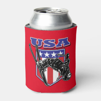 USA-Skier Can Cooler