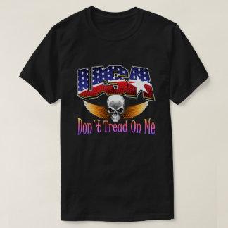 USA Skull T-shirts By AntsAfire