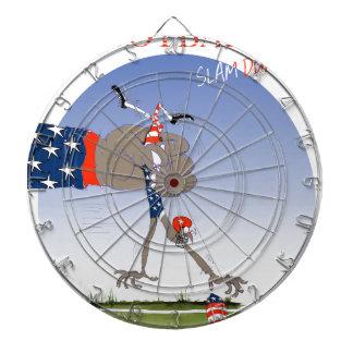 USA slam dunk, tony fernandes Dartboard