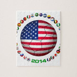 USA Soccer  5332 Jigsaw Puzzle