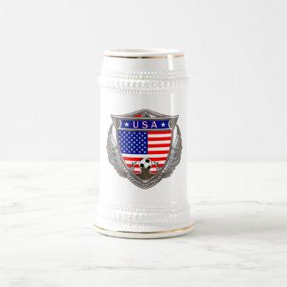 USA Soccer Beverage Stein