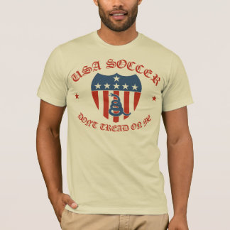 USA Soccer Don't Tread on Me T-Shirt