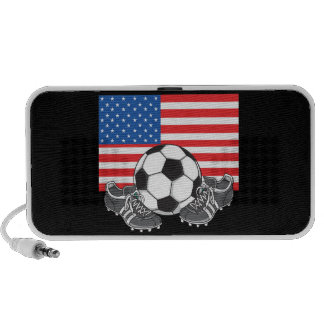 USA Soccer Doodle iphone ipad Speaker