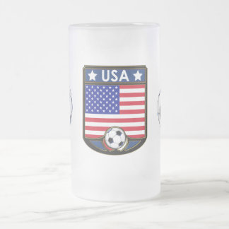 USA Soccer Frosted Beverage Stein