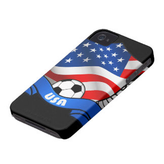 USA Soccer iPhone 4/4S Case-Mate Barely There