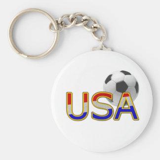 USA Soccer Key Ring