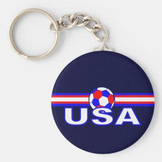 USA Soccer SV Design Keychain