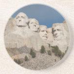 USA, South Dakota, Black Hills National Forest Sandstone Coaster