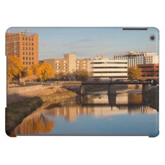 USA, South Dakota, Sioux Falls, City Skyline iPad Air Cases