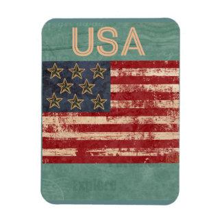 USA Souvenir Magnet