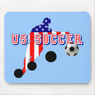 USA sports gifts - American United States flag Mouse Pad