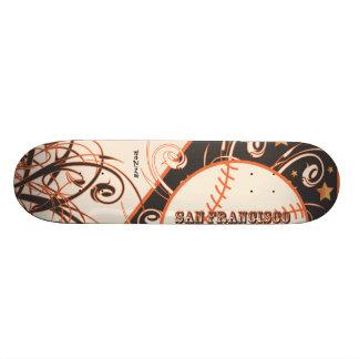 USA Sports Team San Francisco Bay Area Baseball Skateboard Decks