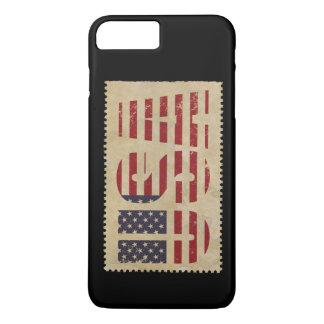 USA Stamp Vintage iPhone 8 Plus/7 Plus Case