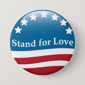 USA Stand for Love button