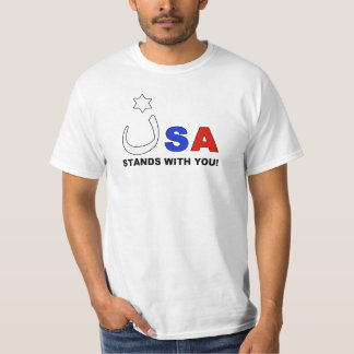 USA Stands With Nazarene Church and Israel T-Shirt