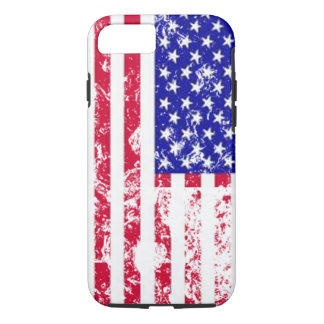 USA Star & Stripes vintage US flag iphone-7 case