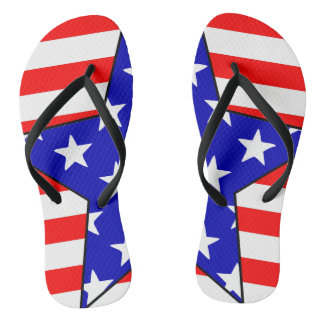 USA Stars 2 Thongs