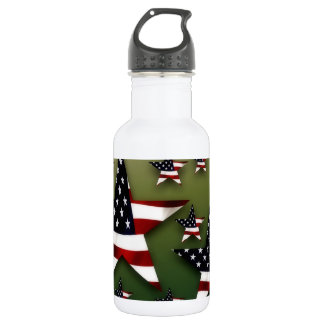 Usa stars 532 ml water bottle