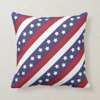USA Stars and Stripes Cushion