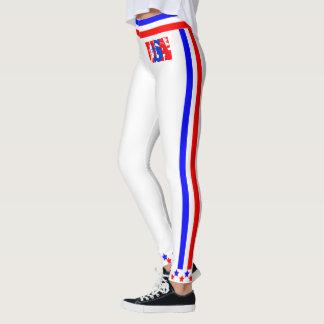 USA Stars and Stripes (cust.) Leggings