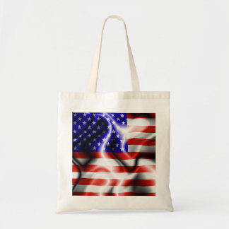 USA Stars and Stripes Silk Flag on the wind Bag