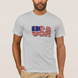 USA Stars and Stripes T Shirt
