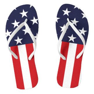 USA Stars and Stripes Thongs