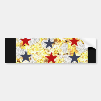 USA STARS BUMPER STICKER