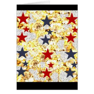 USA STARS CARD