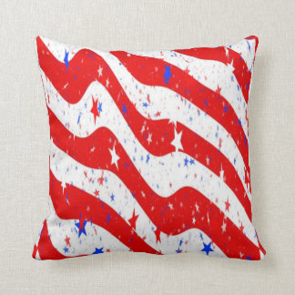 usa stars cushion