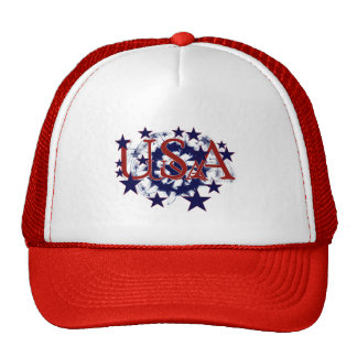 USA Stars Tshirts and Gifts Trucker Hats