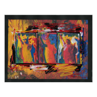 USA statue of liberty painting art Posters