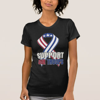 USA Support Our Troops T Shirt