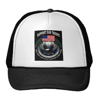usa support troops hat