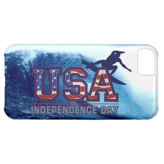 USA Surfer Independence Day iPhone 5 Case