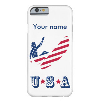 USA surfing American surfer Barely There iPhone 6 Case