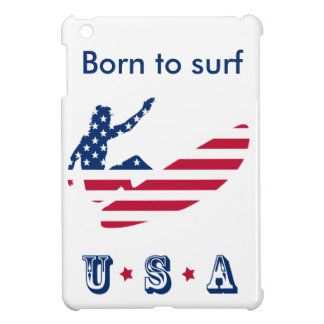 USA surfing American surfer Case For The iPad Mini