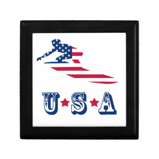 USA surfing American surfer Gift Box