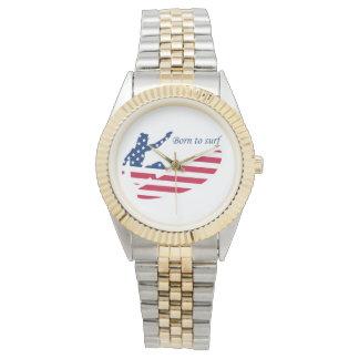 USA surfing American surfer Watch