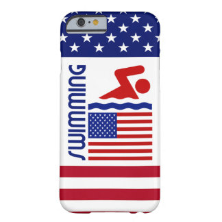 USA Swimming Barely There iPhone 6 Case