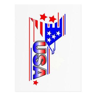USA symbol Postcards