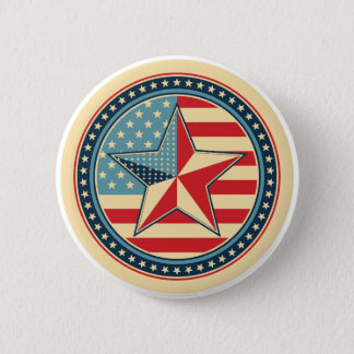 USA symbols 6 Cm Round Badge
