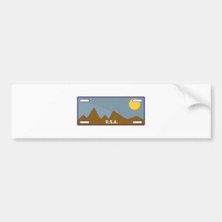 USA Tag Bumper Sticker